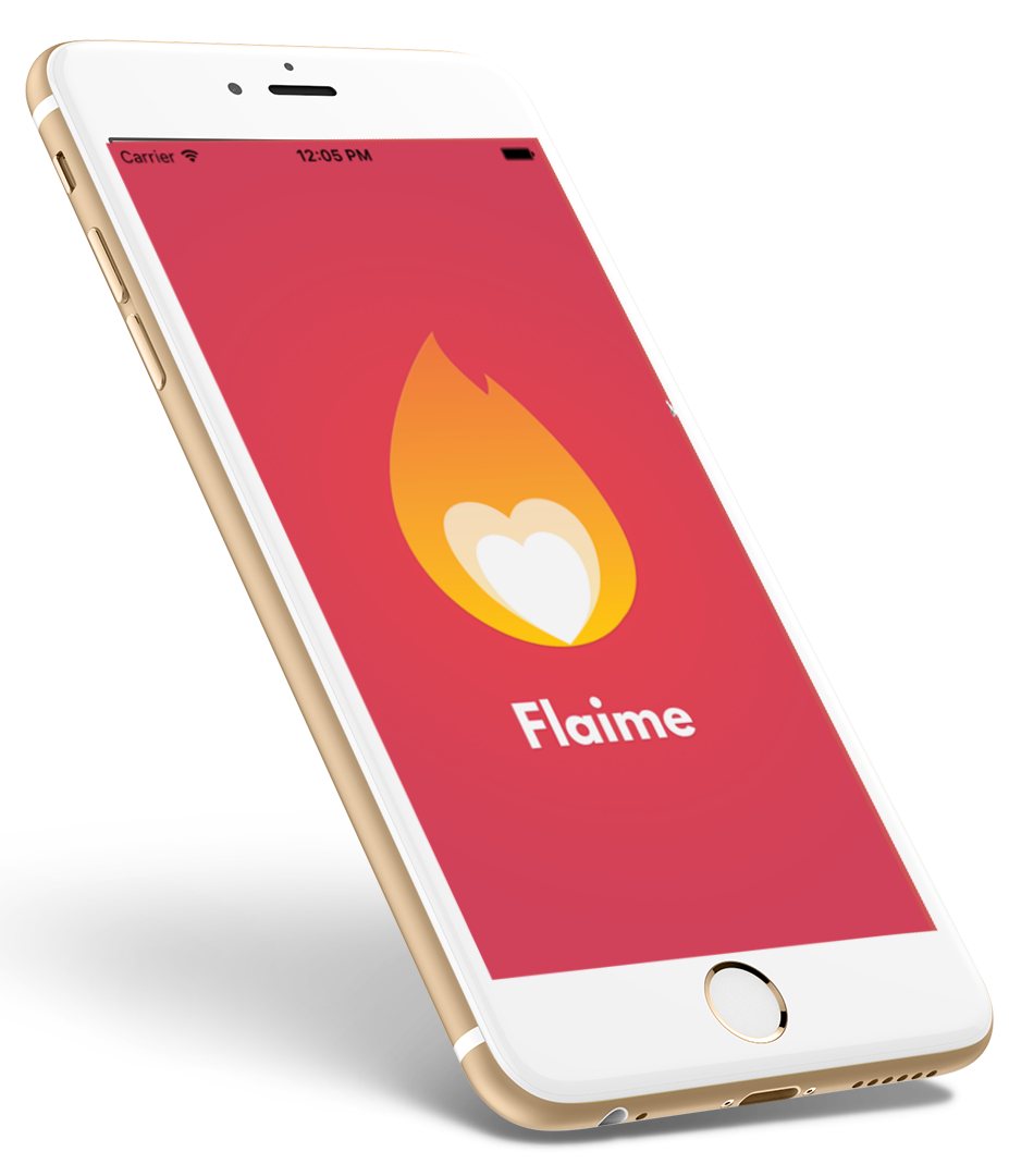 Private networking and dating app (Flaime)